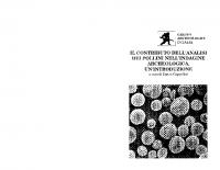 contributo_analisi_pollini_indagine_archeologica_'introduzione