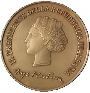 Medaglia Pres. Rep. fronte