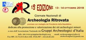 locandina Archeologia Ritrovata 2018